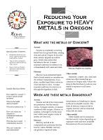 Reducing your exposure to heavy metals in Oregon