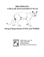 2006 Oregon cougar management plan