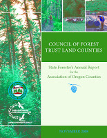 Council of   Forest Trust Land Counties: state forester's report for the AOC annual   conference