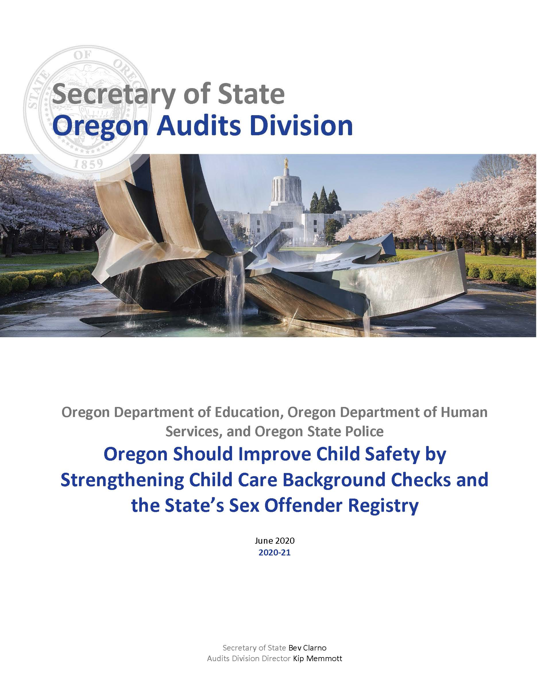 Child care background checks | Read All About It, Oregon!
